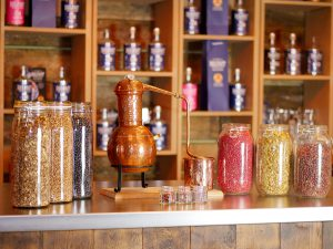 Plan your visit to Belfast Artisan Gin School Botanicals and small still